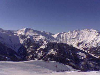 Zimní Gasteinertal v Rakousku