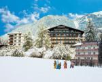 Rakouský hotel Germania v zimě