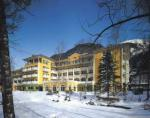 Rakouský hotel Grand Park v zimě