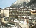 Rakouský hotel Norica v zimě