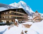 Rakouský hotel Römerhof v zimě