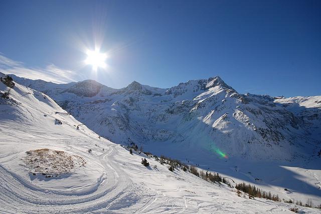 Snowpark a freeride, 2. část